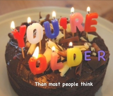 Cake Youre Older than most people think