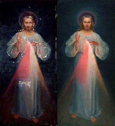 Divine Mercy Vilnius-Restoration