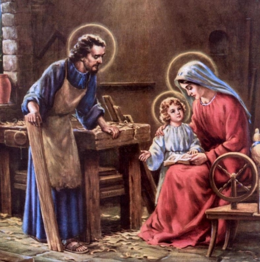 Family Stories Mary talking to Jesus
