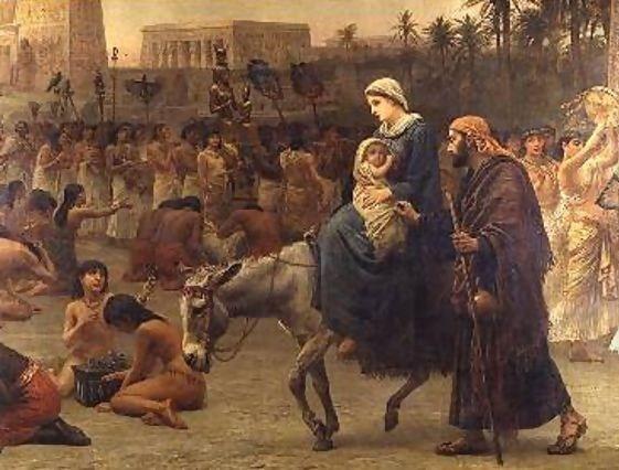 Holy Family into Egypt